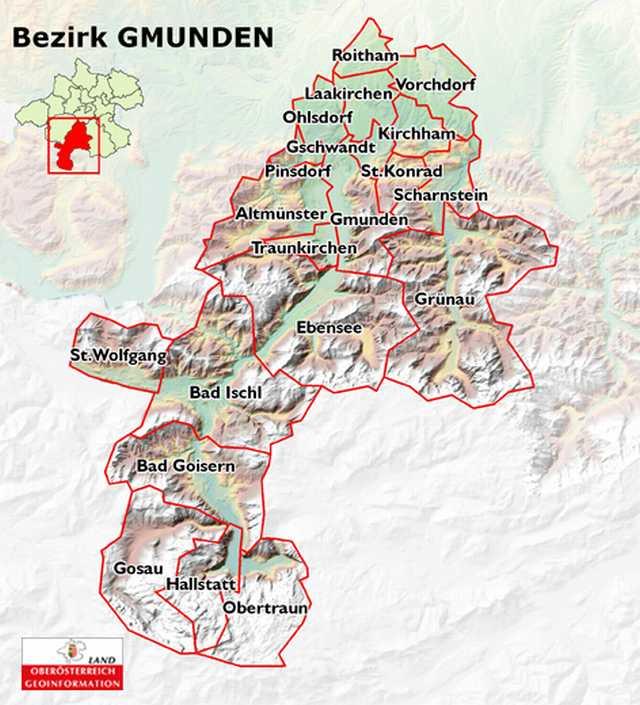Über den Bezirk Gmunden, OÖ LJV