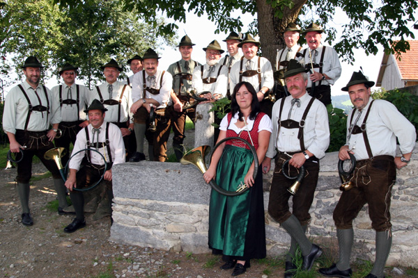 Gruppenfoto JHBG Pfarrkirchen im Mühlkreis