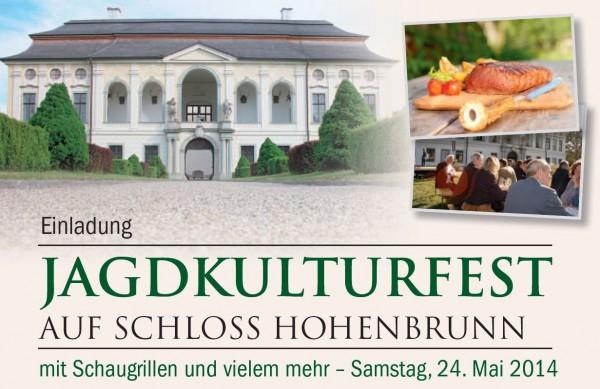 Einladung Jagdkulturfest