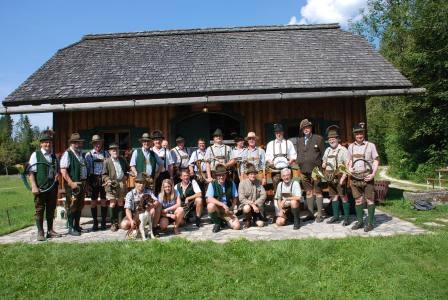 Jagdhornbläsertreffen des Bezirks Gmunden im Almtal, OÖ LJV