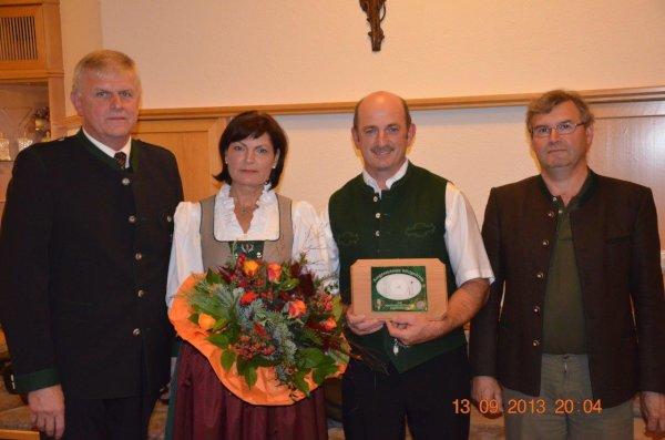 Restaurantplakette Kirchenwirt, OÖ LJV