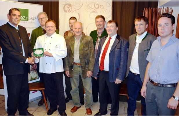 Restaurantplakette Gasthaus Helpfauer Hof, OÖ LJV