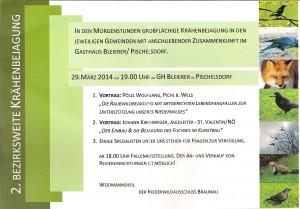 Einladung zum Vortrag