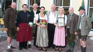 Restaurantplakette Eichingerbauer
