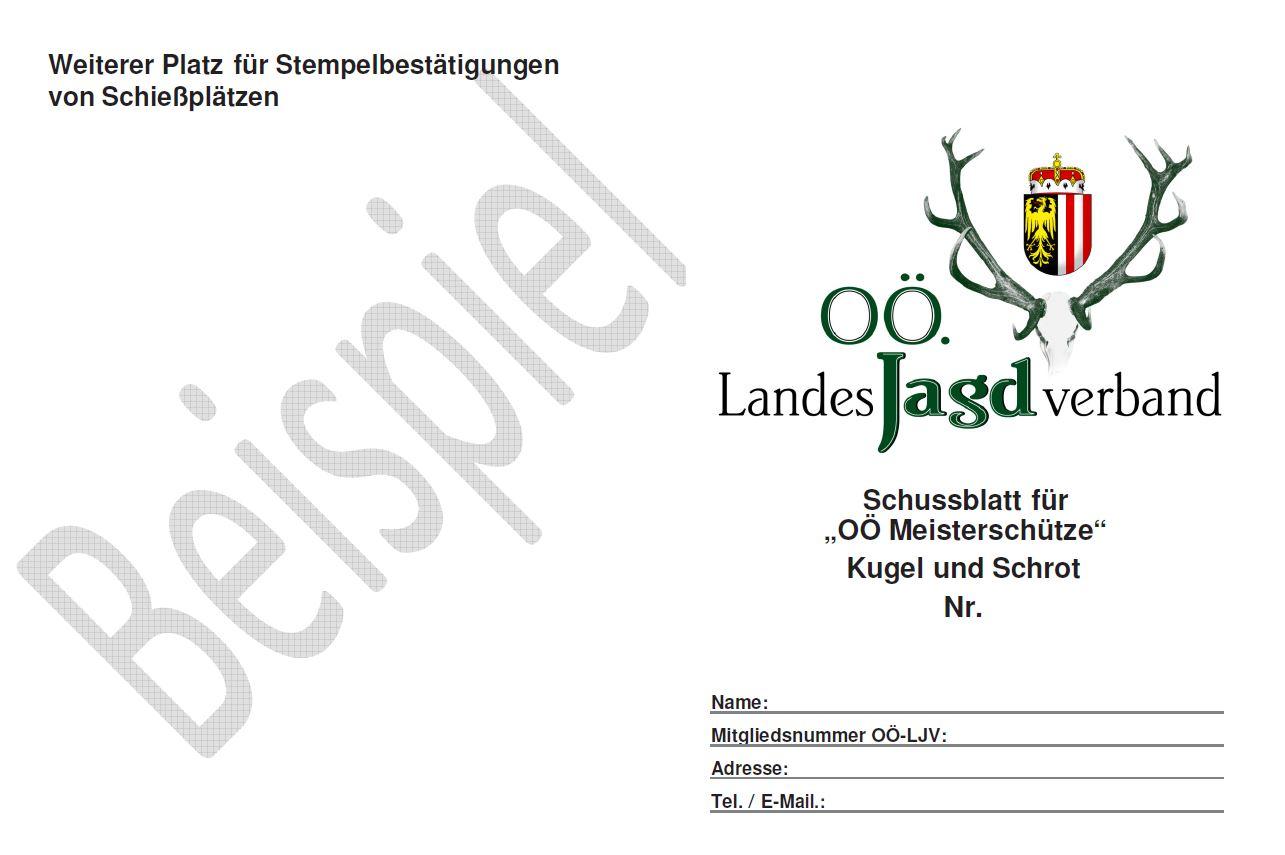 """""""OÖ Meisterschütze"""""""