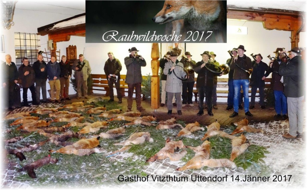 Raubwildwoche 2017, OÖ LJV