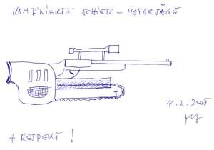 Gewehr Zeichnung