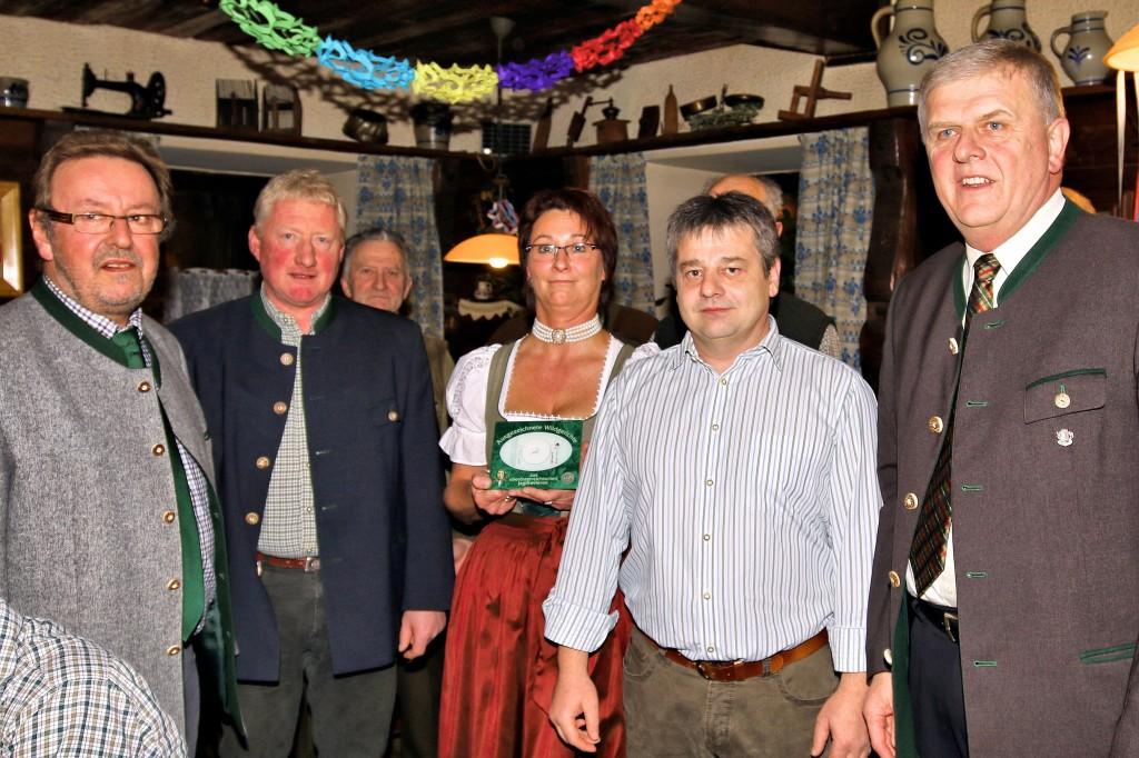 Restaurantplakette Gasthaus Kapfhammer, OÖ LJV