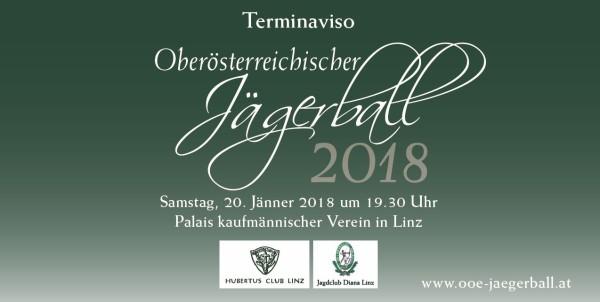 Oö Jägerball am 20. Jänner 2018