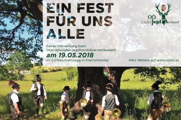 Internationaler Jagdhornbläserwettbewerb 2018