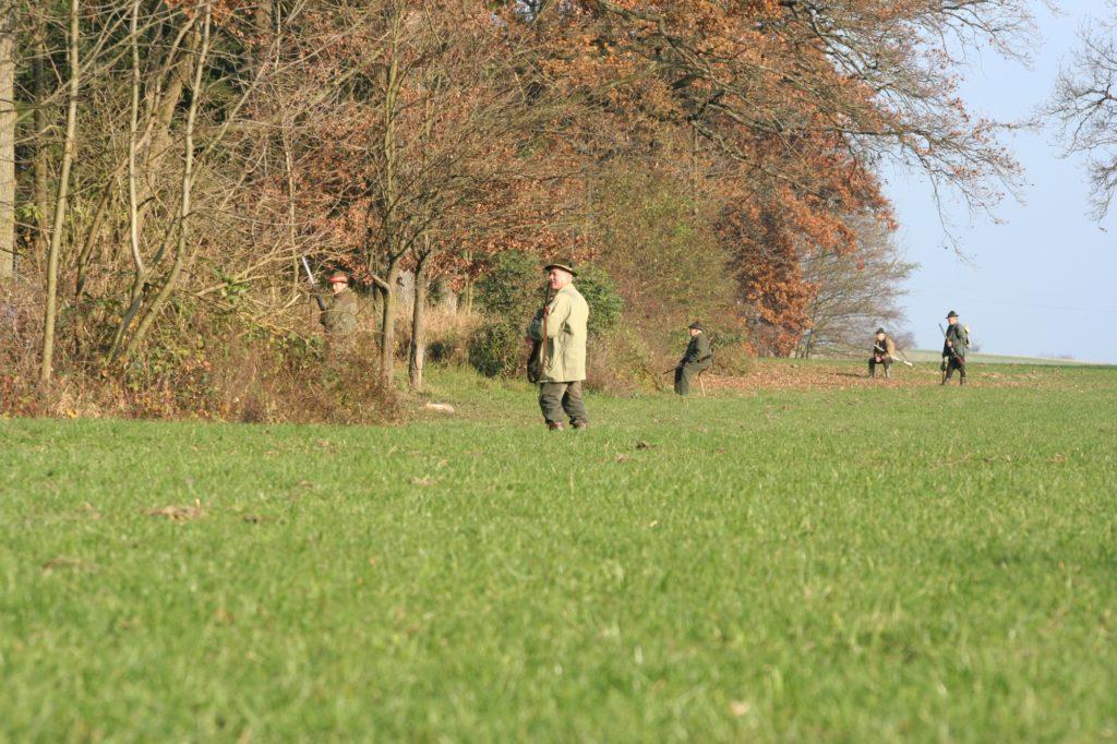 Jagd und Jäger in der Gesellschaft_Treibjagd