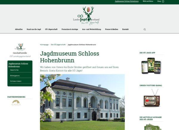Homepage des OÖ LJV neu aufgestellt