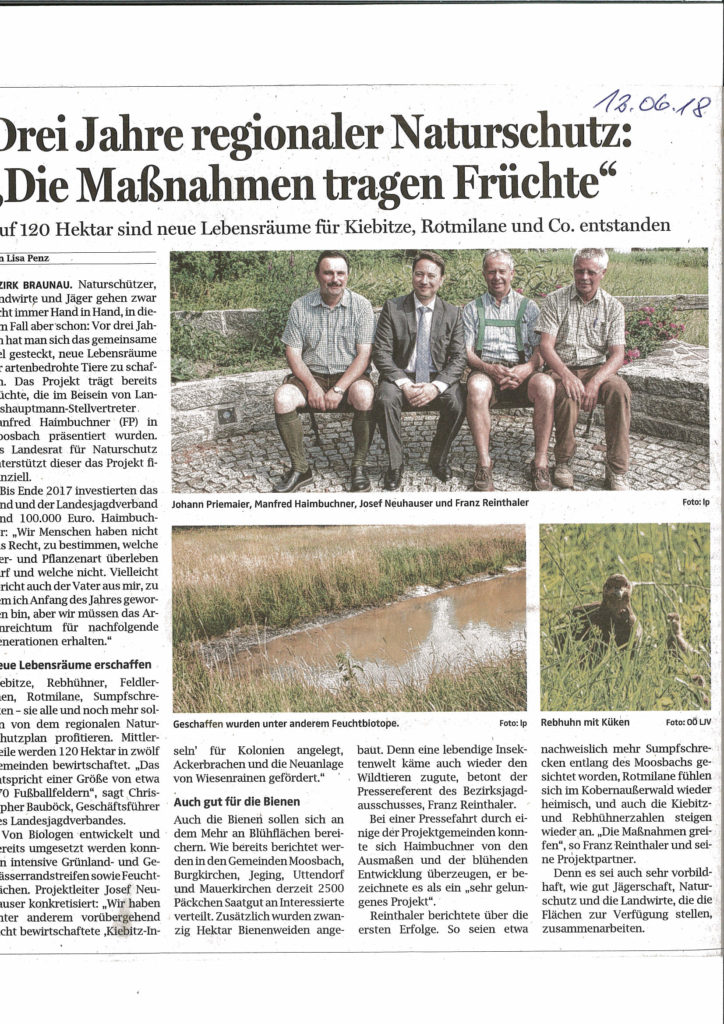 Pressefahrt Braunau, OÖ LJV