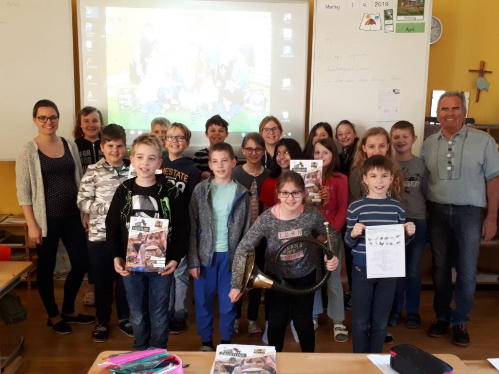 """""""Schule und Jagd"""" – Die Kinder für die Natur begeistern, OÖ LJV"""