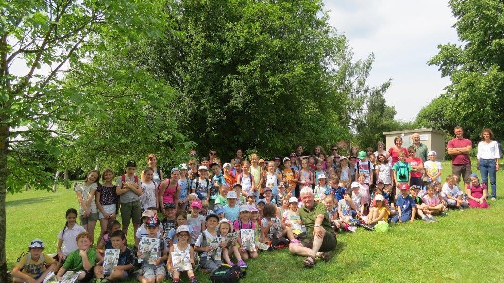 Naturerlebnistag der Volksschulen Bruckmühl und Thomasroith, OÖ LJV