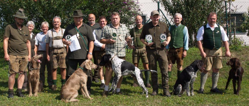 Verbandsvollgebrauchsprüfung für Vorstehhunde, OÖ LJV