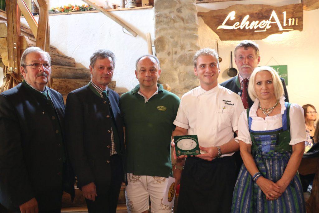 Restaurantplakette Wia z´haus Lehner, OÖ LJV