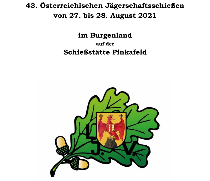 Österreichisches Jägerschaftsschießen 2021, OÖ LJV